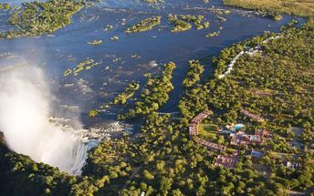 Río Zambeze, Livingstone (Zambia)