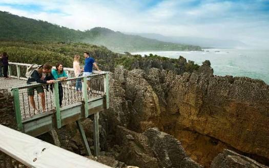 Punakaiki Panacake Rock, Punakaiki (Nueva Zelanda)