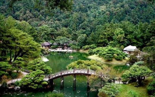 Parque Ritsurin, Japón | namasteviajes.com