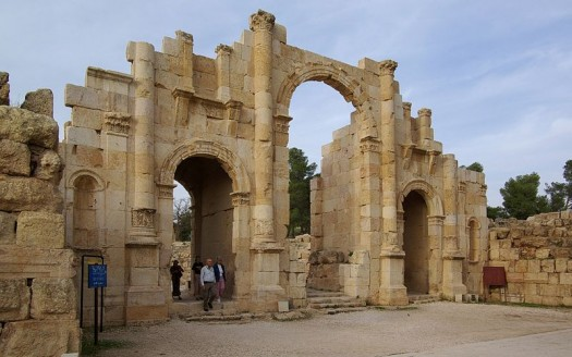 Puerta del Sur, Jerash (Jordania) - Berthold Werner   namasteviajes.com
