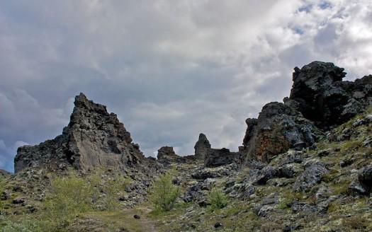 Dimmuborgir, Islandia - Bjarki Sigursveinsson from Ísafjörður Iceland | namasteviajes.com